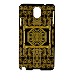 Beautiful Stars Would Be In Gold Frames Samsung Galaxy Note 3 N9005 Hardshell Case