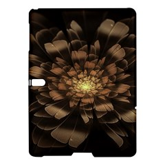 Fractal Flower Floral Bloom Brown Samsung Galaxy Tab S (10 5 ) Hardshell Case