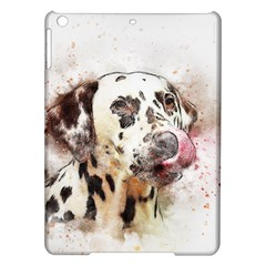 Dog Portrait Pet Art Abstract Ipad Air Hardshell Cases