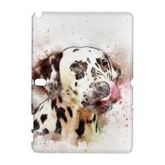Dog Portrait Pet Art Abstract Galaxy Note 1