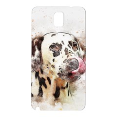 Dog Portrait Pet Art Abstract Samsung Galaxy Note 3 N9005 Hardshell Back Case