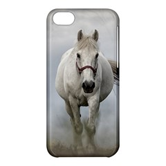 Horse Mammal White Horse Animal Apple Iphone 5c Hardshell Case