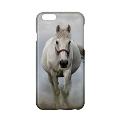 Horse Mammal White Horse Animal Apple Iphone 6/6s Hardshell Case
