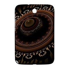 Fractal Stripes Abstract Pattern Samsung Galaxy Note 8 0 N5100 Hardshell Case