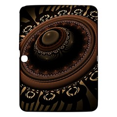 Fractal Stripes Abstract Pattern Samsung Galaxy Tab 3 (10 1 ) P5200 Hardshell Case