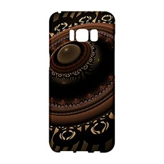 Fractal Stripes Abstract Pattern Samsung Galaxy S8 Hardshell Case