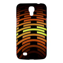 Fractal Orange Texture Waves Samsung Galaxy Mega 6 3  I9200 Hardshell Case