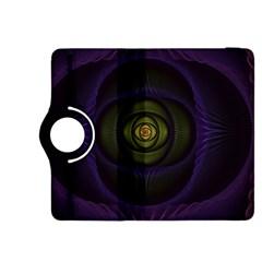Fractal Blue Eye Fantasy 3d Kindle Fire Hdx 8 9  Flip 360 Case