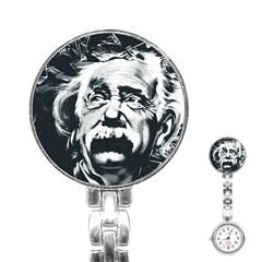 Einstein Albert Einstein Street Art Stainless Steel Nurses Watch