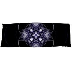 Fractal Blue Denim Stained Glass Body Pillow Case Dakimakura (two Sides)
