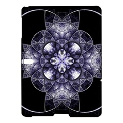 Fractal Blue Denim Stained Glass Samsung Galaxy Tab S (10 5 ) Hardshell Case