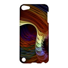 Fractal Colorful Rainbow Flowing Apple Ipod Touch 5 Hardshell Case