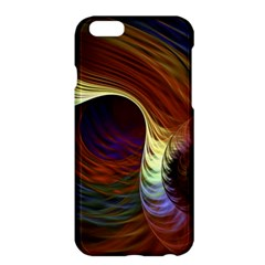 Fractal Colorful Rainbow Flowing Apple Iphone 6 Plus/6s Plus Hardshell Case