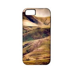 Iceland Mountains Sky Clouds Apple Iphone 5 Classic Hardshell Case (pc+silicone)