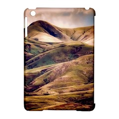 Iceland Mountains Sky Clouds Apple Ipad Mini Hardshell Case (compatible With Smart Cover)