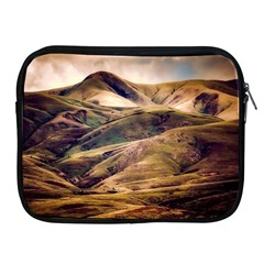 Iceland Mountains Sky Clouds Apple Ipad 2/3/4 Zipper Cases