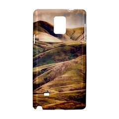 Iceland Mountains Sky Clouds Samsung Galaxy Note 4 Hardshell Case