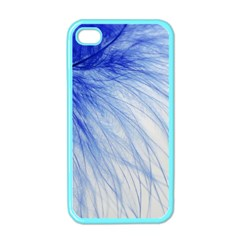 Spring Blue Colored Apple Iphone 4 Case (color)