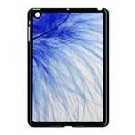 Spring Blue Colored Apple iPad Mini Case (Black) Front