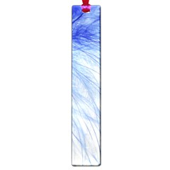 Spring Blue Colored Large Book Marks