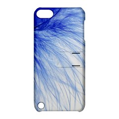Spring Blue Colored Apple Ipod Touch 5 Hardshell Case With Stand