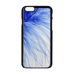 Spring Blue Colored Apple Iphone 6/6s Black Enamel Case