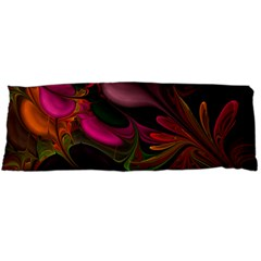 Fractal Abstract Colorful Floral Body Pillow Case (dakimakura)