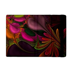 Fractal Abstract Colorful Floral Apple Ipad Mini Flip Case