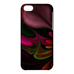 Fractal Abstract Colorful Floral Apple Iphone 5c Hardshell Case