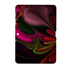 Fractal Abstract Colorful Floral Samsung Galaxy Tab 2 (10 1 ) P5100 Hardshell Case