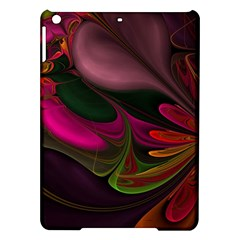 Fractal Abstract Colorful Floral Ipad Air Hardshell Cases