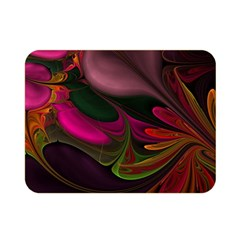 Fractal Abstract Colorful Floral Double Sided Flano Blanket (mini)