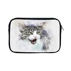 Cat Pet Art Abstract Watercolor Apple Ipad Mini Zipper Cases