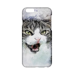 Cat Pet Art Abstract Watercolor Apple Iphone 6/6s Hardshell Case