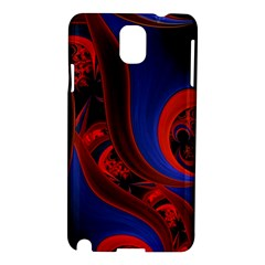 Fractal Abstract Pattern Circles Samsung Galaxy Note 3 N9005 Hardshell Case