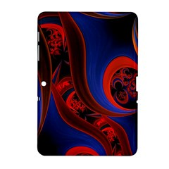 Fractal Abstract Pattern Circles Samsung Galaxy Tab 2 (10 1 ) P5100 Hardshell Case