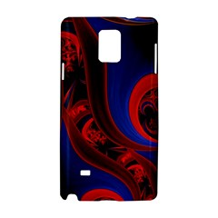 Fractal Abstract Pattern Circles Samsung Galaxy Note 4 Hardshell Case
