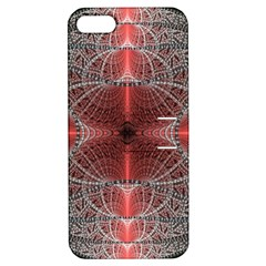 Fractal Diamond Circle Pattern Apple Iphone 5 Hardshell Case With Stand