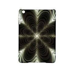 Fractal Silver Waves Texture Ipad Mini 2 Hardshell Cases