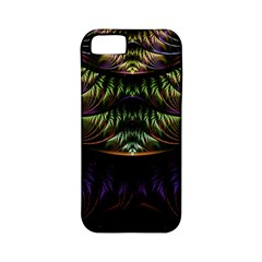 Fractal Colorful Pattern Fantasy Apple Iphone 5 Classic Hardshell Case (pc+silicone)