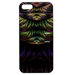 Fractal Colorful Pattern Fantasy Apple Iphone 5 Hardshell Case With Stand