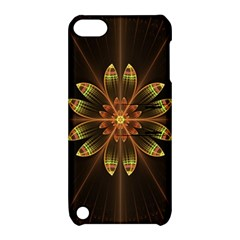 Fractal Floral Mandala Abstract Apple Ipod Touch 5 Hardshell Case With Stand