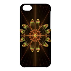 Fractal Floral Mandala Abstract Apple Iphone 5c Hardshell Case