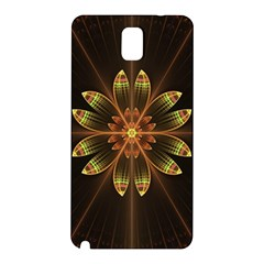 Fractal Floral Mandala Abstract Samsung Galaxy Note 3 N9005 Hardshell Back Case