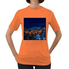 Castelmezzano Italy Village Town Women s Dark T Shirt