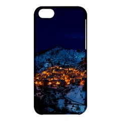 Castelmezzano Italy Village Town Apple Iphone 5c Hardshell Case