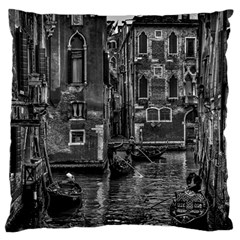 Venice Italy Gondola Boat Canal Large Cushion Case (two Sides)