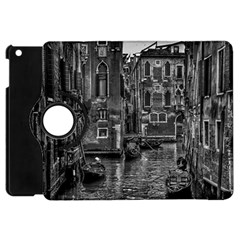Venice Italy Gondola Boat Canal Apple Ipad Mini Flip 360 Case