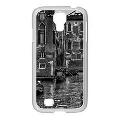 Venice Italy Gondola Boat Canal Samsung Galaxy S4 I9500/ I9505 Case (white)