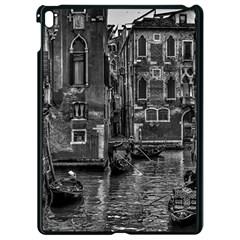 Venice Italy Gondola Boat Canal Apple Ipad Pro 9 7   Black Seamless Case